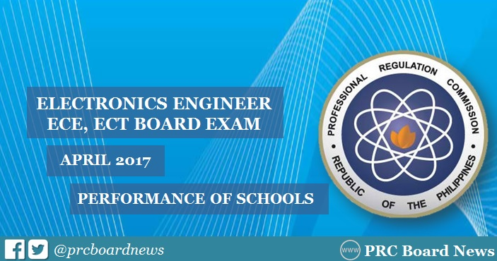 April 2017 ECE, ECT board exam top schools
