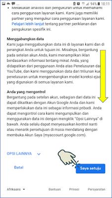 Cara 1 : Membuat Akun Gmail melalui Browser Android 4