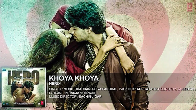 Khoya Khoya Guitar Chords - Hero