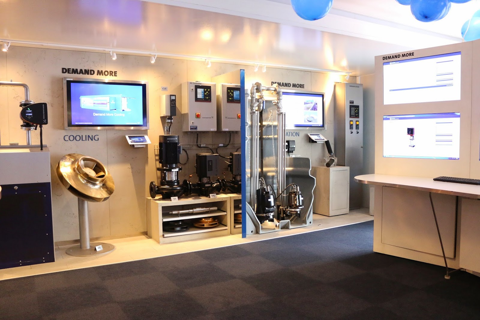 DEMAND MORE MOBILE SHOWROOM CAMPAIGN BY GRUNDFOS PUMPS INDIA