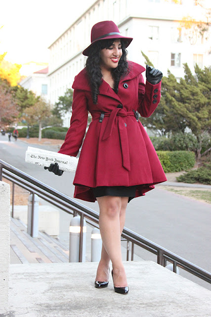 Carmen Sandiego Halloween Costume DIY Cosplay