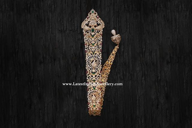 Bridal Diamond Choti