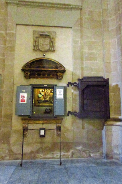 Cuadro de Miguel Ángel, catedral de Logroño