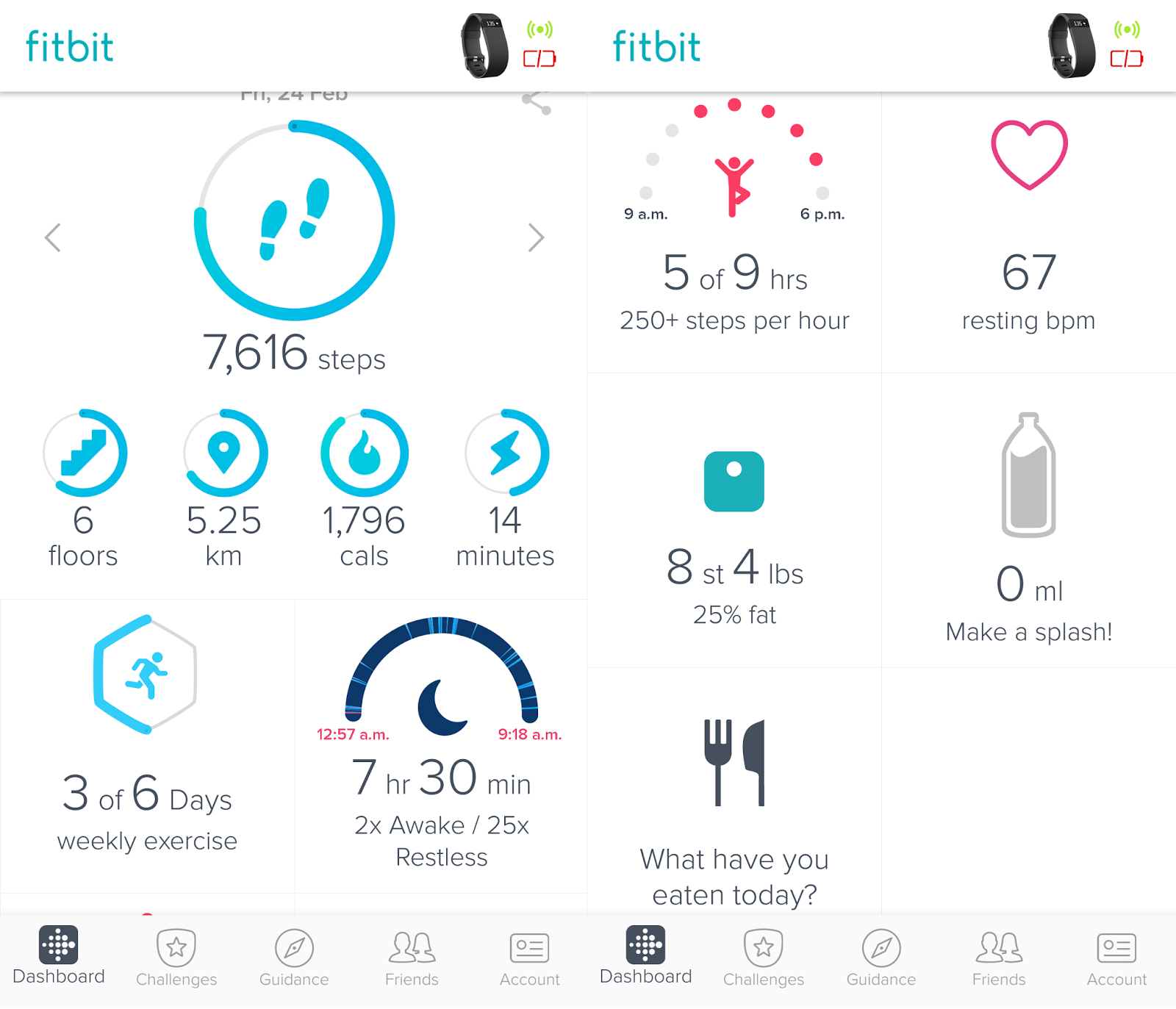 Entirely Sarah Fitbit Charge Hr