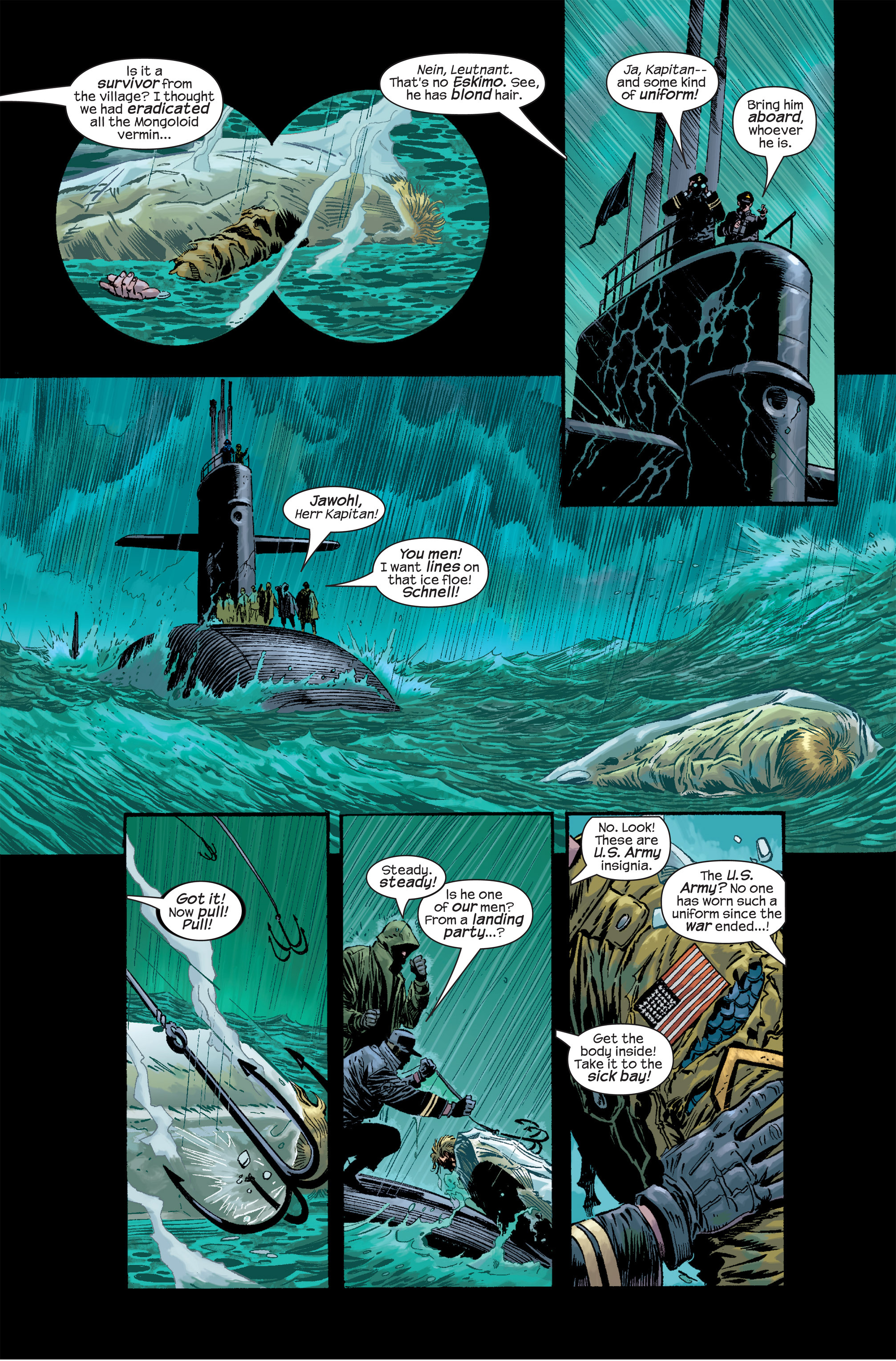 Captain America (2002) Issue #17 #18 - English 6