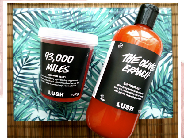 BEAUTY: CURRENT FAVOURITE LUSH PRODUCTS IN MY SHOWER