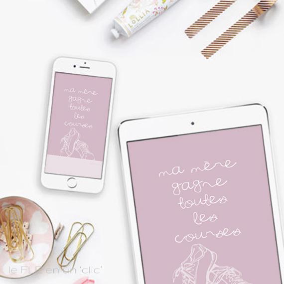 carte fête des mères à télécharger et imprimer, fonds d'écran, fête des mères, freebies, DIY, FLE, le FLE en un 'clic'