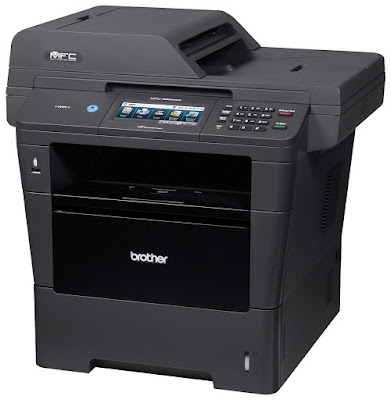 Color Touchscreen display amongst Web Connect Brother MFC-8950DWT Printer Driver Downloads