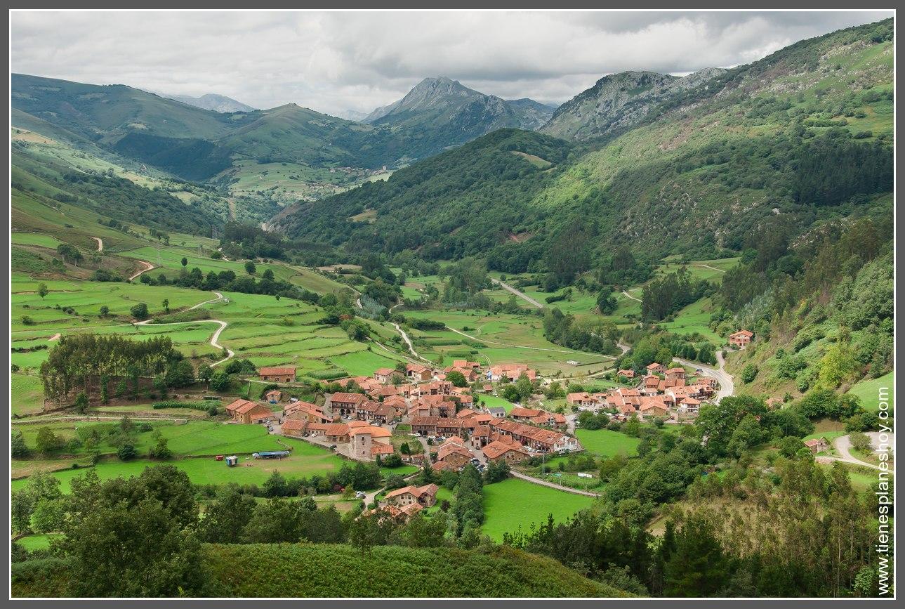 Interior de cantabria pueblos y paisajes de ensue o for Que es exterior y interior