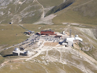 The Hotel Campo Imperatore as it is today
