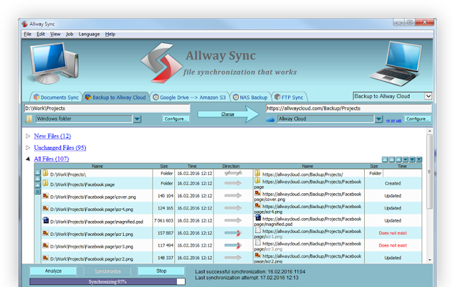 Allway Sync open source software
