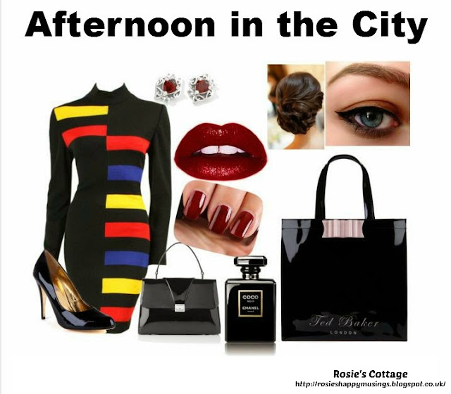 Release your inner designer with Polyvore - Afternoon in the City by Rosies Cottage
