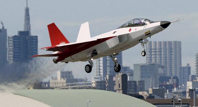 Japon lanza convocatoria para concursar  adquirir 100 Cazas de 5ta generacion - 3 alternativas en su analisis Jap%25C3%25B3n%2Bprepara%2Bel%2Bensayo%2Bde%2Bsu%2Bcaza%2Bdel%2Bfuturo%2B_desarrollodefensaytecnologiabelica.blogspot.com.ar