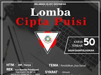Lomba Menulis Puisi Nasional 2018 di Komunitas RSI (Relawan Sejati Indonesia)