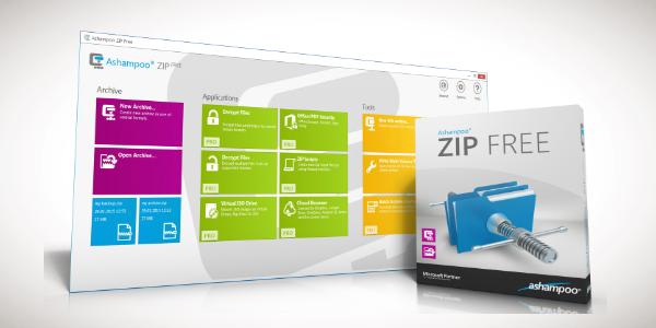 تحميل برنامج Ashampoo Zip Free لفك و ضغط الملفات