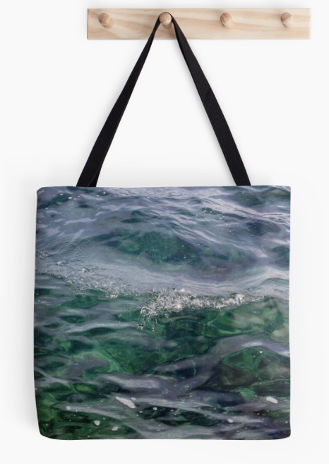 bags inspired by water