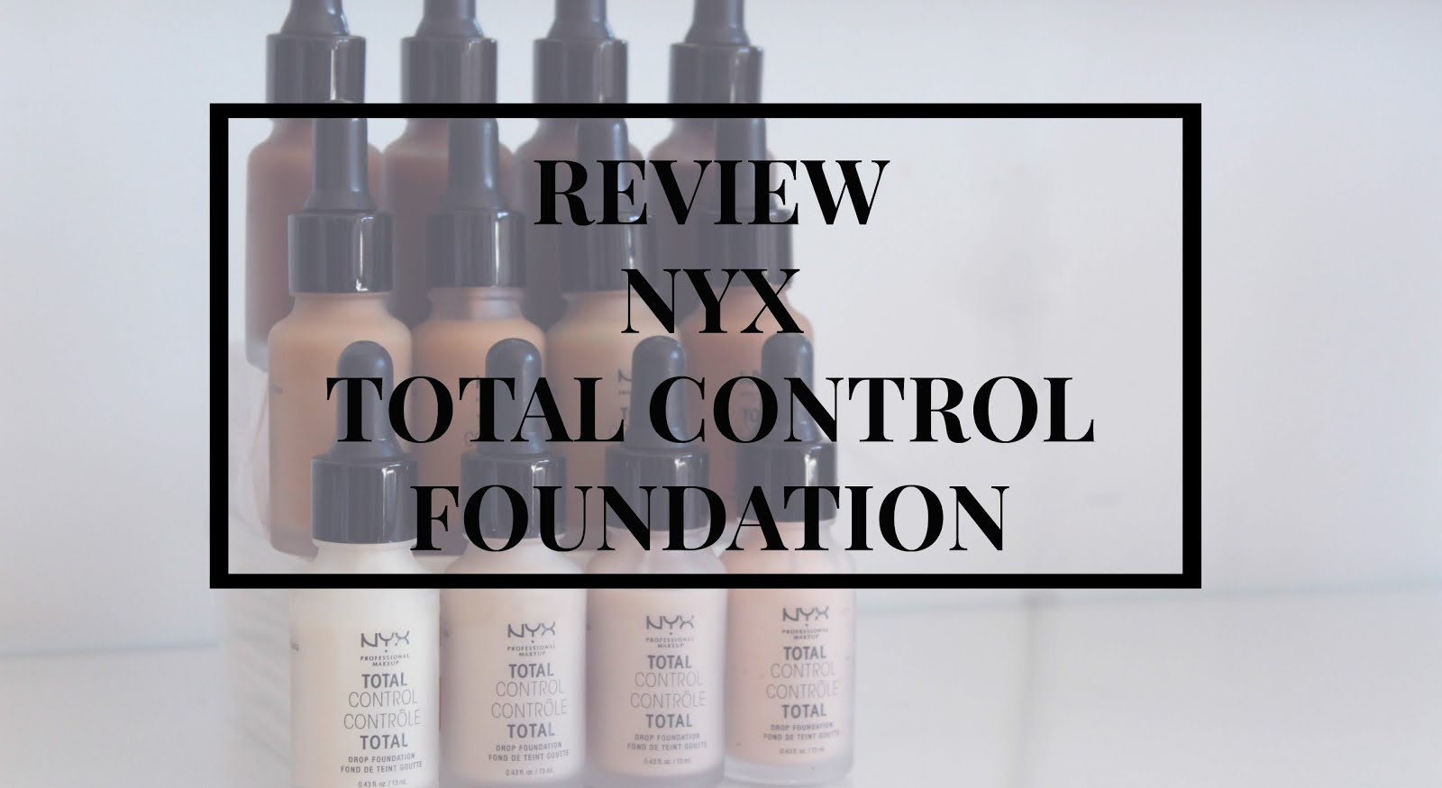NYX Total Control Drops Foundation