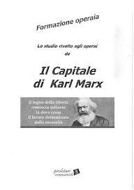 Corso di formazione marxista operaia