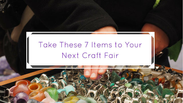 Take these items to your next craft show