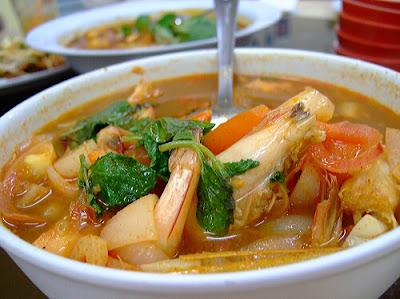 Resepi Tomyam Seafood Sedap
