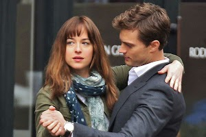 50 shades of gray: new photos from the shooting