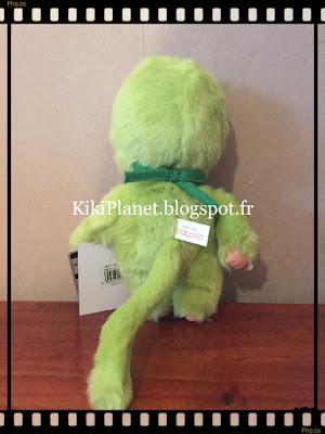 """Le Monchhichi Matcha Thé Vert !  """"Monchhichi Matcha Boy """" référence 261178 kiki jouet vintage sekiguchi"""