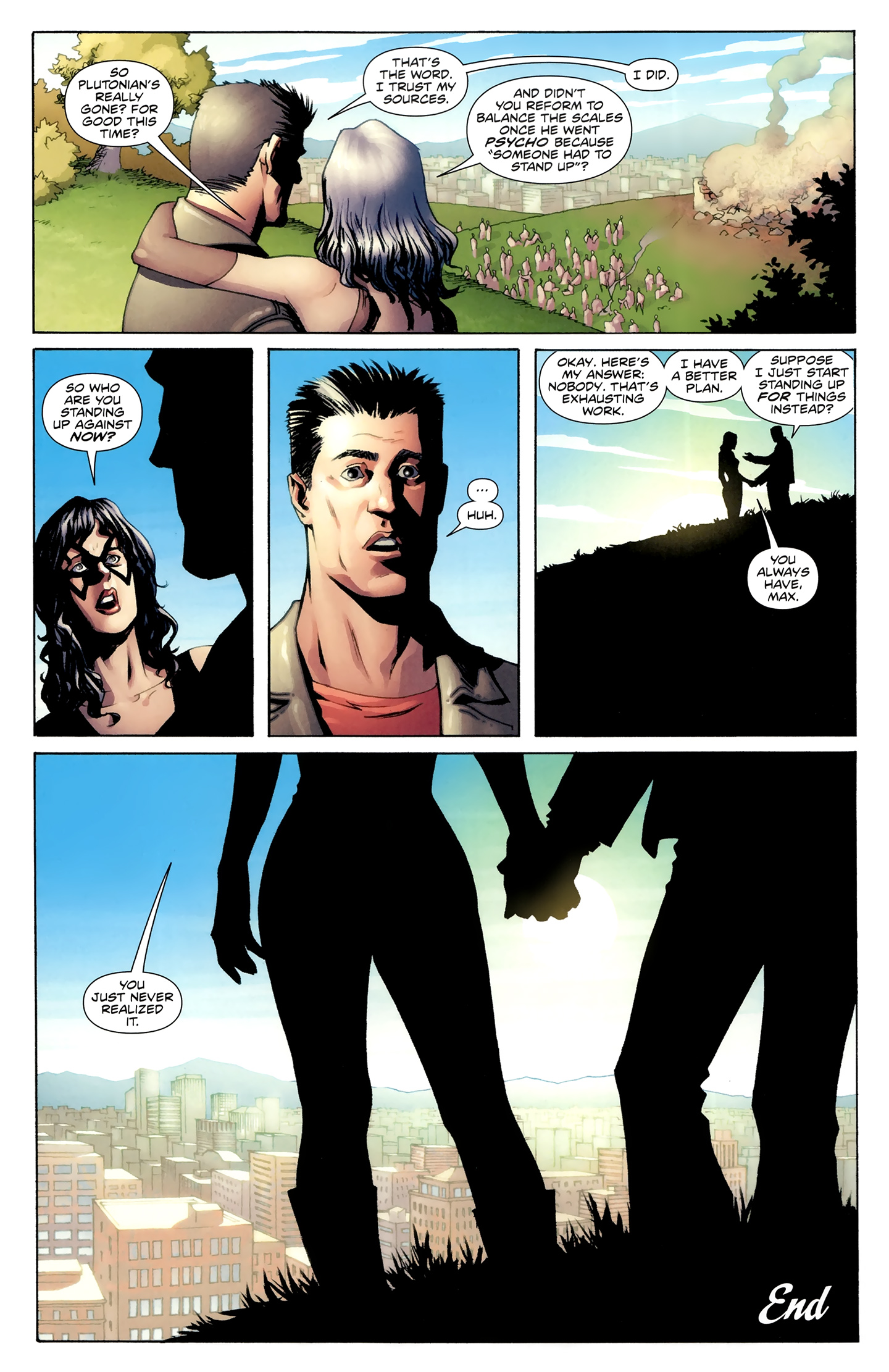 Read online Incorruptible comic -  Issue #30 - 24