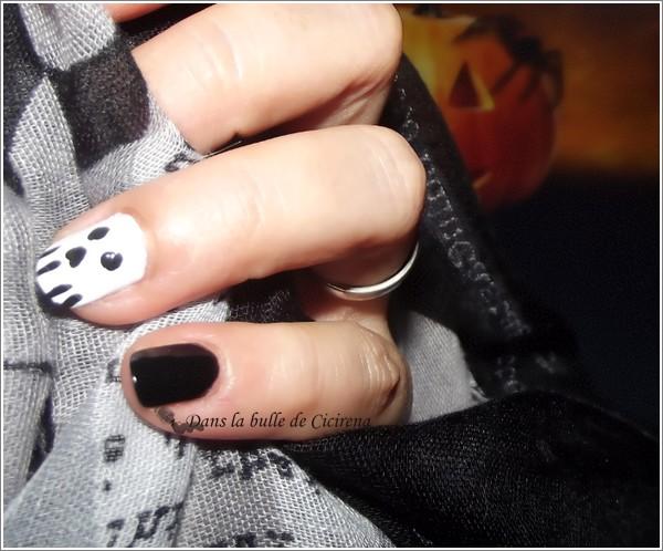 blog beauté, Nail-art facile pour Halloween