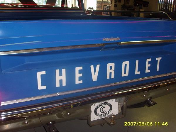 Einen Chevy Pick up aufgenommen in St. Petersburg, Florida