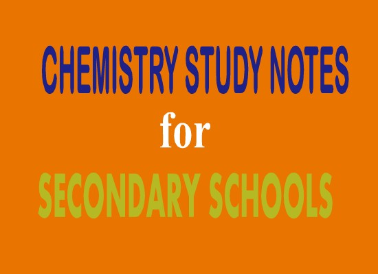 Form One Chemistry Study Notes Topic 1 Introduction To Chemistry