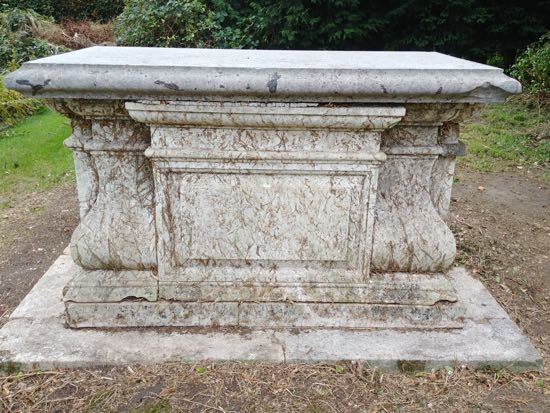 Photograph of The south side of the tomb - September 30, 2018  Image by the North Mymms History Project released under Creative Commons BY-NC-SA 4.0