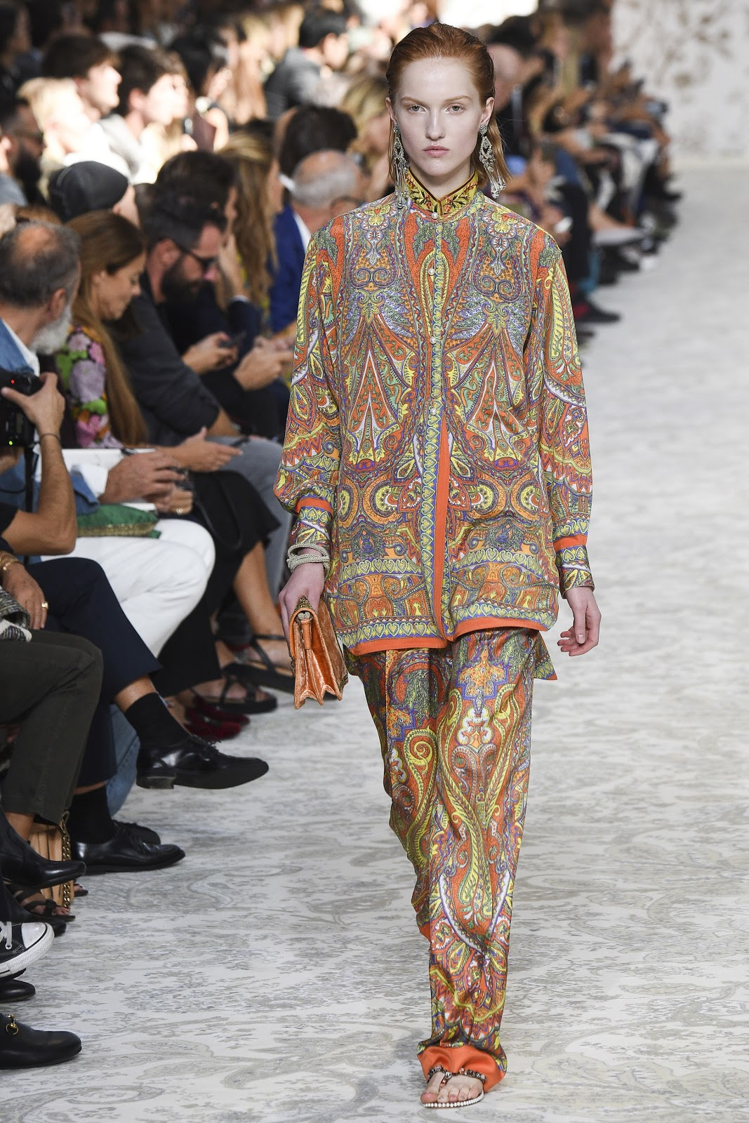 Etro Spring/Summer 2018 Paris Fashion Week.