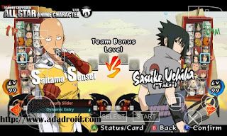 Download Naruto NSUNI Mod All Star Anime CSO PSP Android
