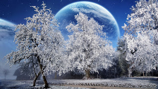 Magic Winter HD Wallpapers for Desktop 1080p free download