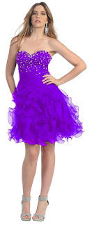 purple homecoming dresses 2013