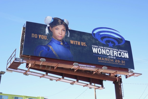 WonderCon 2019 billboard