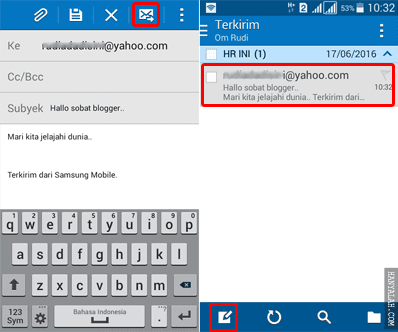 Lengkap Cara Setting Email Hotmail di Ponsel Android Tanpa Aplikasi Tambahan