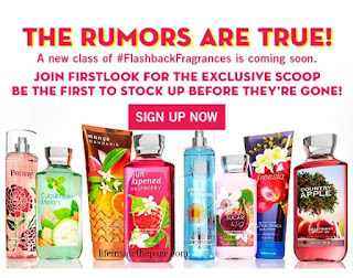 Bath & Body Works | Fragrance Flashbacks | May 2016