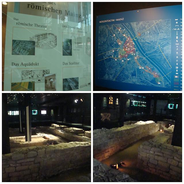 Santuário Isis e Magna Mater na Römerpassage em Mainz