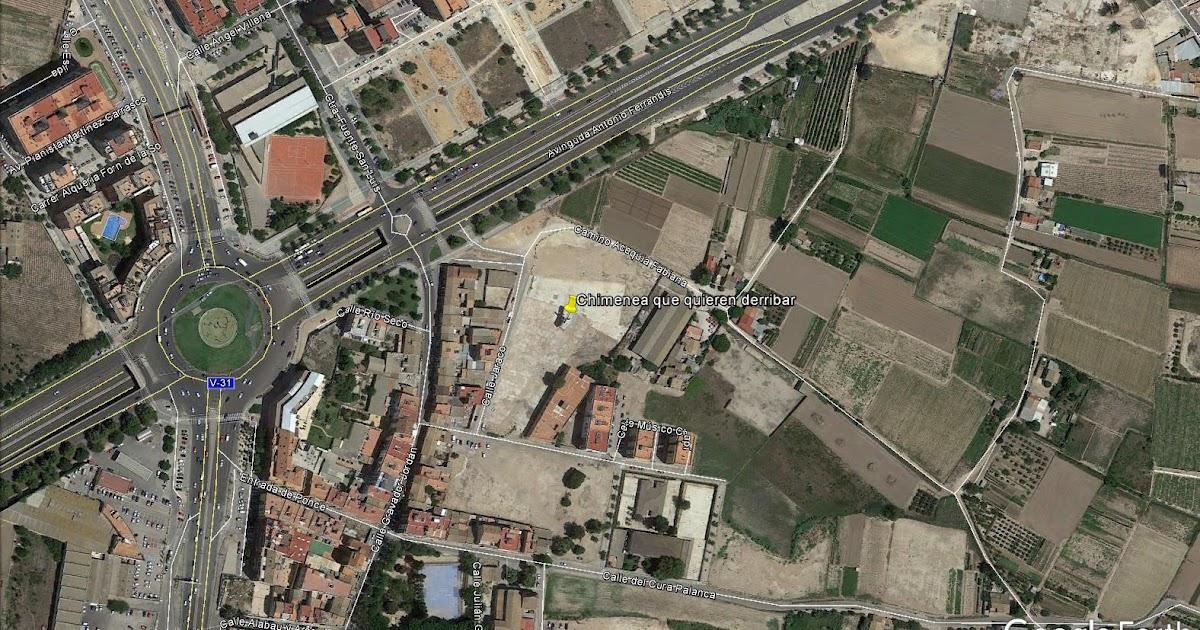 Patrimonio industrial arquitect nico descatalogar - Chimeneas en valencia ...