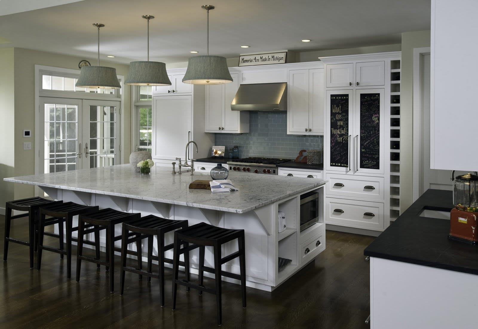 √√ Large KITCHEN ISLANDS with Seating and Storage ...