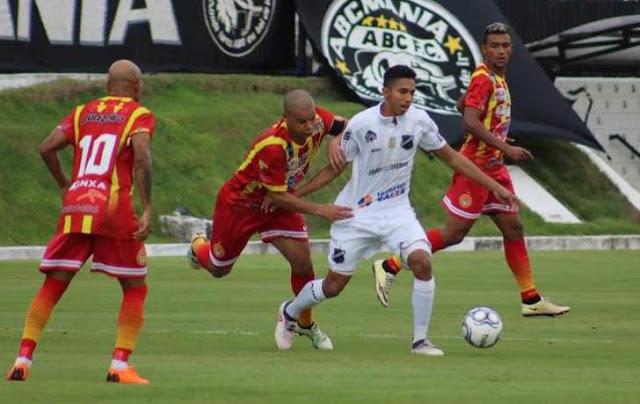 Juazeirense só empate com ABC e se complica na Série C - Esporte - Bahia - Portal SPY