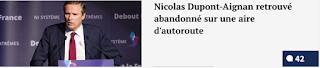 http://www.legorafi.fr/2017/05/07/nicolas-dupont-aignan-retrouve-abandonne-sur-une-aire-dautoroute/