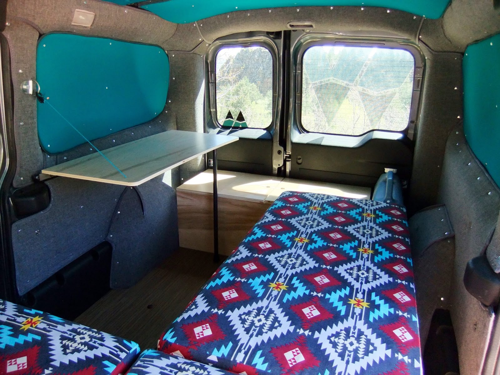 Wayfarer Vans Ram ProMaster City Campervan Conversion In 25