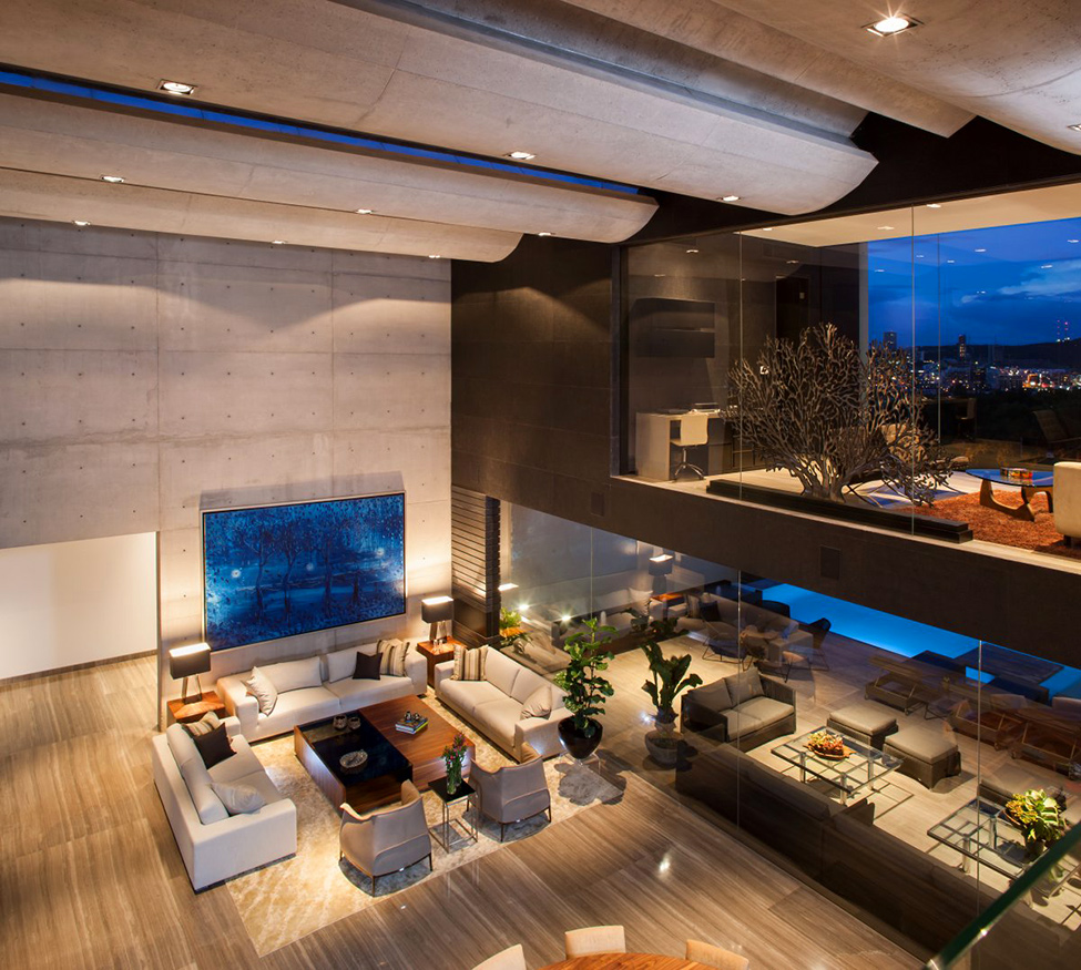 Magnificent Mexico Geometric Residential House in High Quality