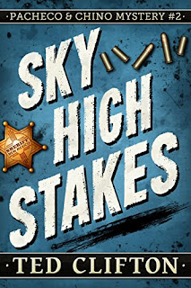 Sky High Stakes - mystery by Ted Clifton