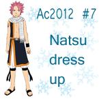لعبة تلبيس ناتسو Natsu dress up