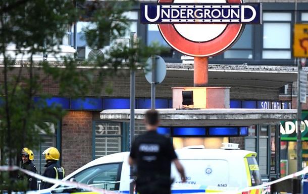 У метро Лондона стався вибух