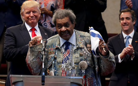 Trump 'shocked the world,' boxing promoter Don King says