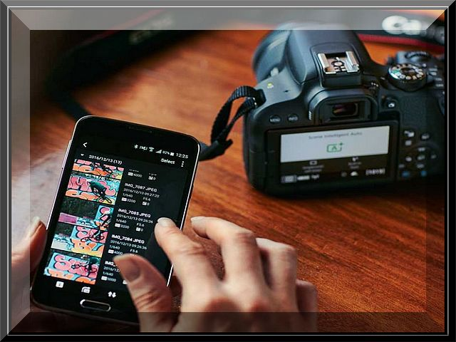 Canon Eos 800D,Rebel T7i Connecting to Smartphone via Wi-Fi
